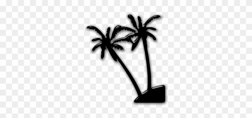 Black And White Palm Tree Clip Art Clipart Best - Into The Night Dvd #29928