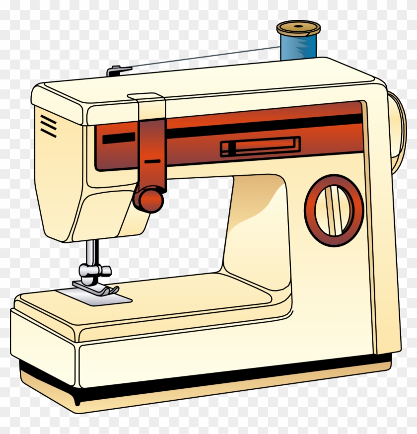 Sewing Threads Clipart - Sewing Machine Clip Art Png #30004