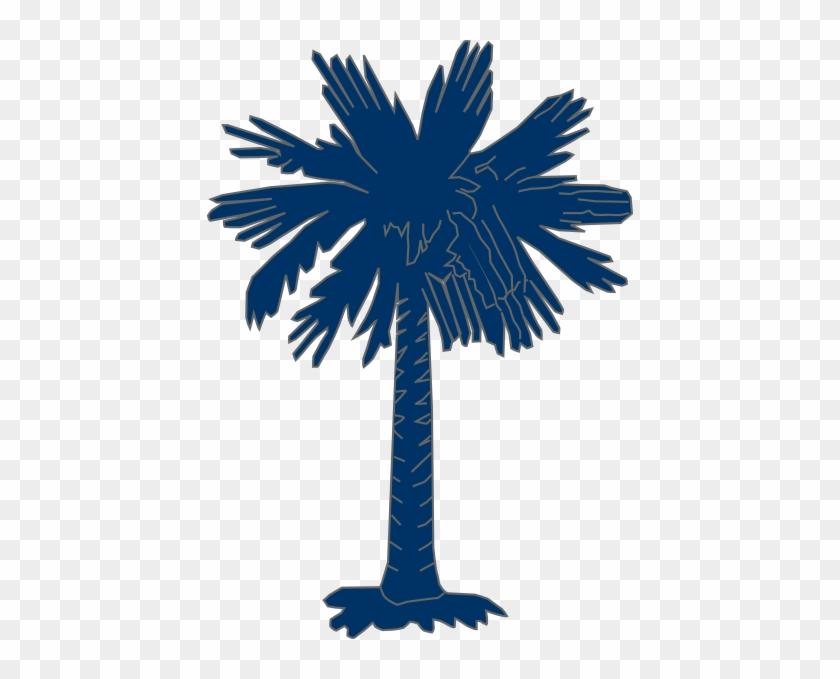 Palmetto Cliparts - Flag Of South Carolina #30035