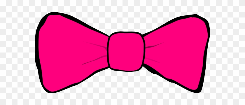 Bow Tie Clipart Hot Pink - Bow Tie Clip Art #30045