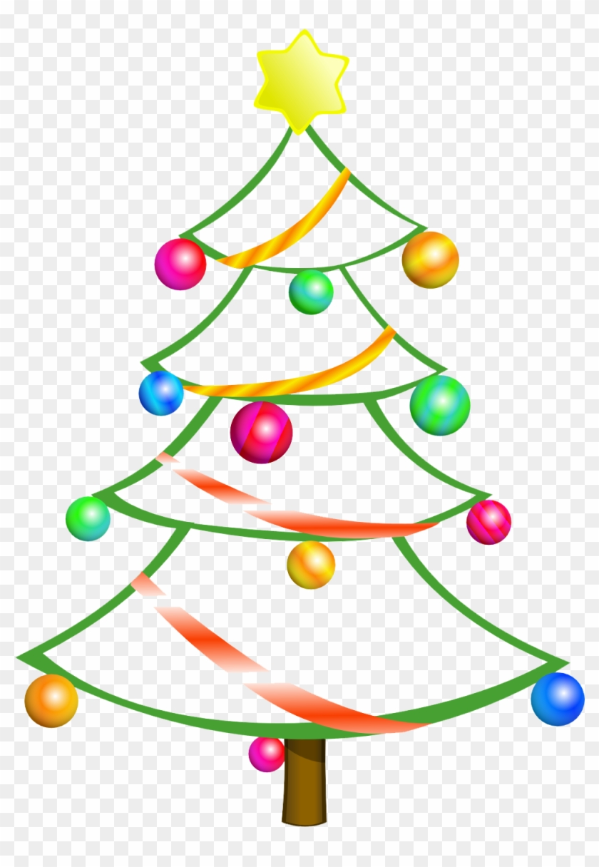 Free Christmas Clipart Downloads For Mac - Christmas Tree Clip Art #30083