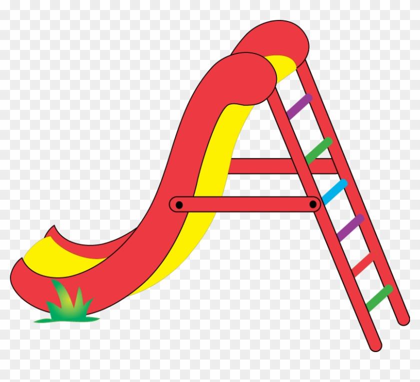 Playground Clipart - Slide Clipart #30093