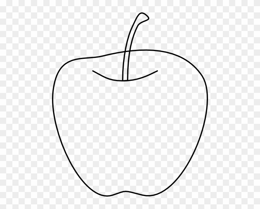 Apple Sketch Clipart Clip Art At Clker Com Vector Online - Apple Pics Black And White #30115