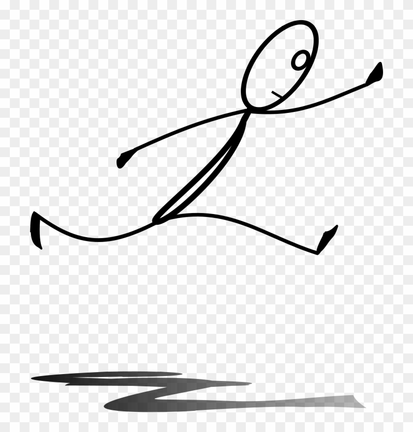 Get Notified Of Exclusive Freebies - Stickman Jumping #30128