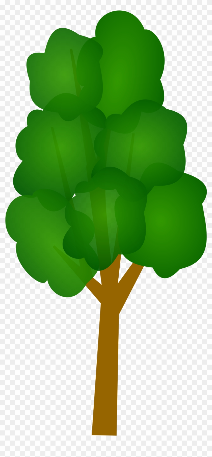 Free Clipart Images Of A Tree - Long Tree Vector Png #30169