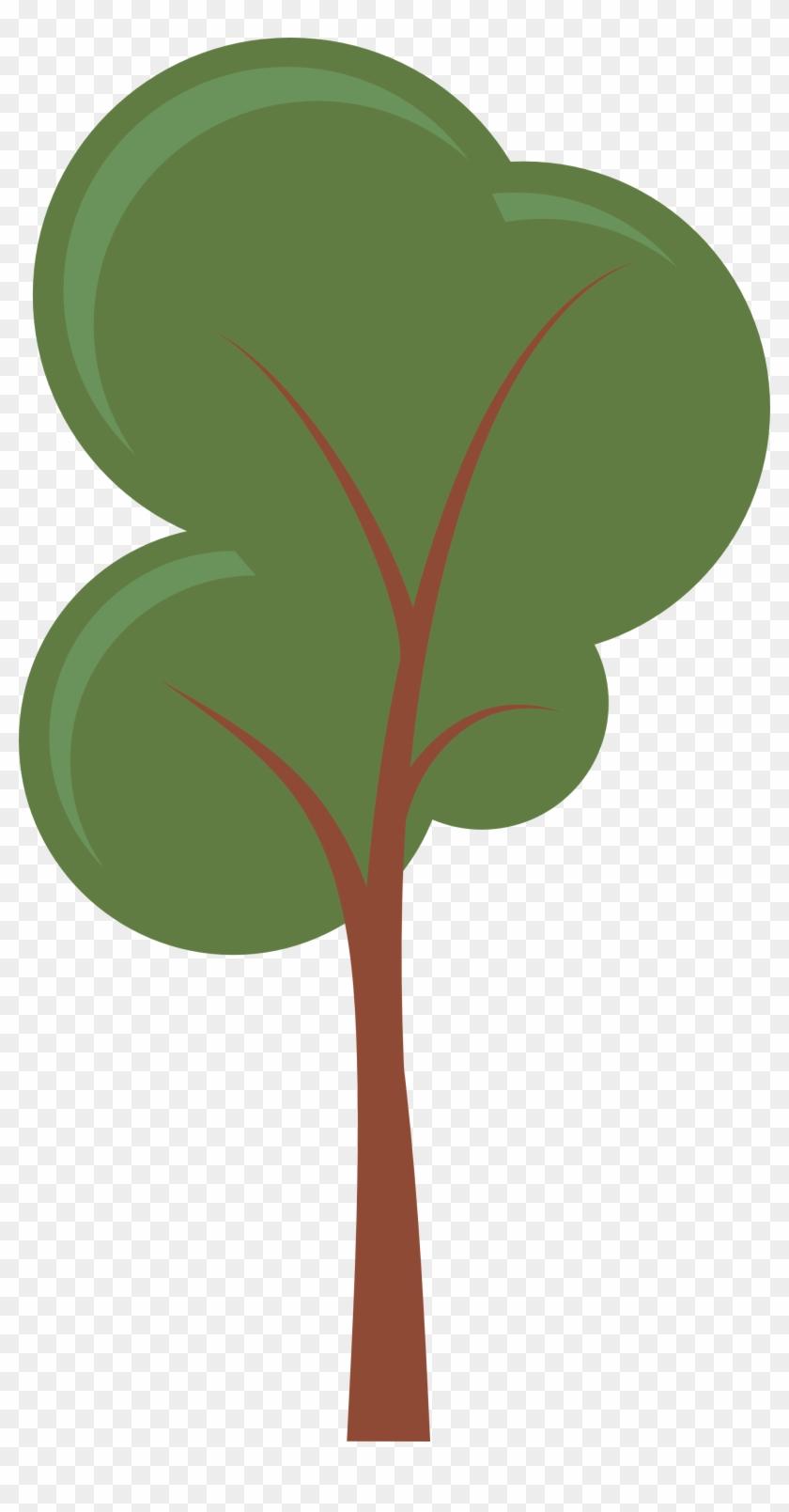 Transparent Tree Cliparts - Cartoon Trees #30172