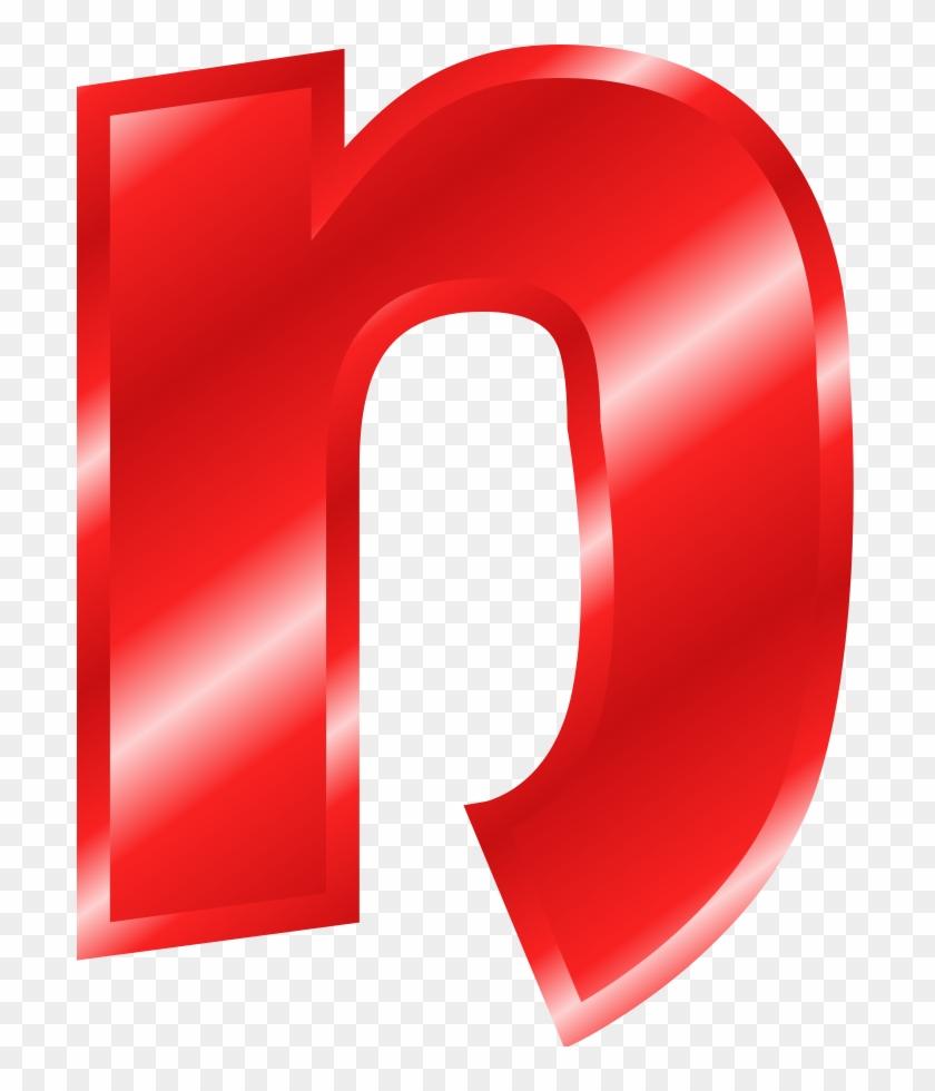 Large Alphabet Clipart - Clipart Alphabet Letter N #30200