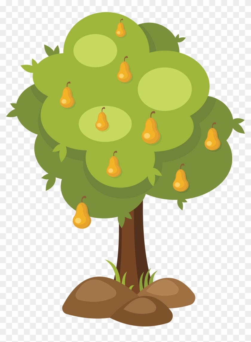 Big Image - Pear Tree Clipart #30226