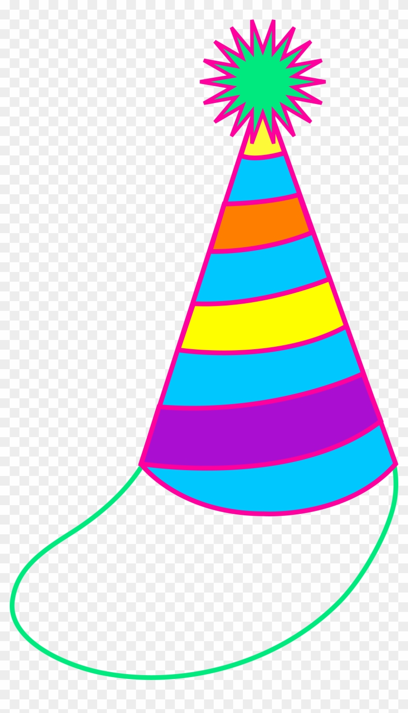 Birthday Hat Clipart Free Images - Birthday Party Hat Cartoon #30240