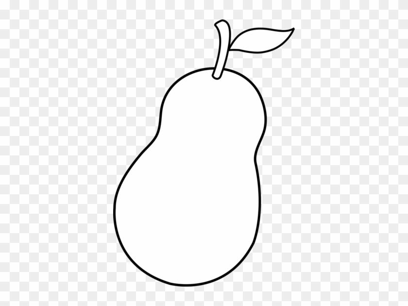 Clipart Info - Pear Cartoon Black And White #30253