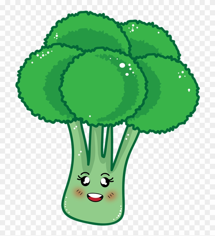 Free To Use &, Public Domain Broccoli Clip Art - Cartoon Broccoli Clipart #30298