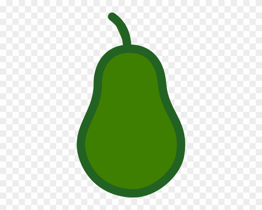 Pear Shape Clip Art #30309