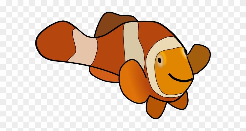 Clown Fish Clip Art Free Vector - Fish Clip Art #30337