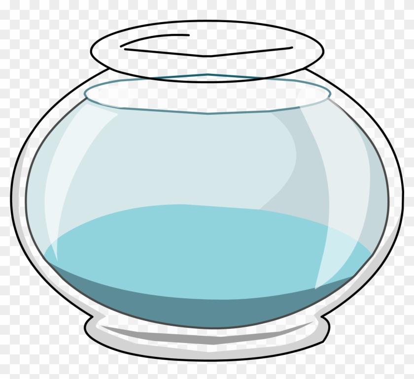 Fish Bowl Clip Art At Clker Vector Image - Empty Fish Bowl Clip Art #30349
