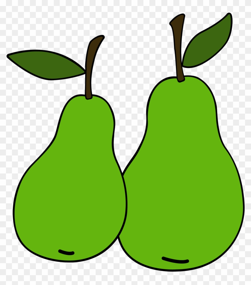 Pear Diaper Cake Food Fruit Clip Art - Pear Diaper Cake Food Fruit Clip Art #30400