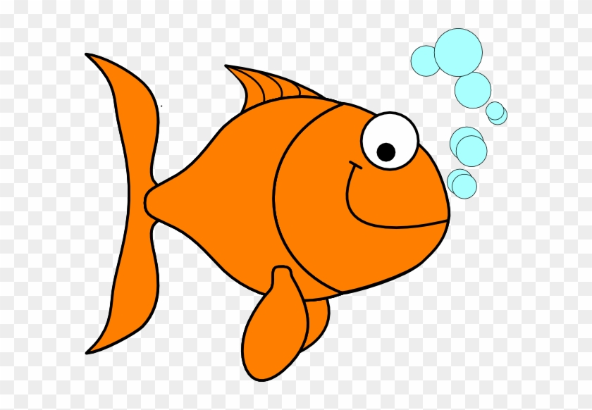 Nonsensical Goldfish Clipart Clip Art At Clker Com - Goldfish Clipart #30445