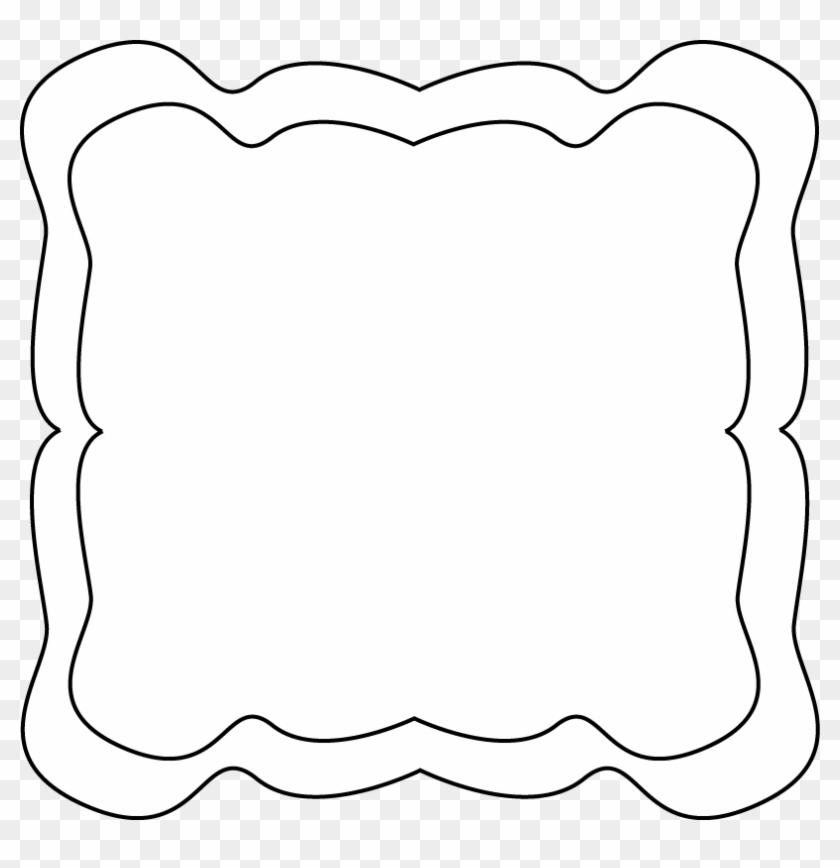 Curvy Frame - Zig Zag Frame Png #30459