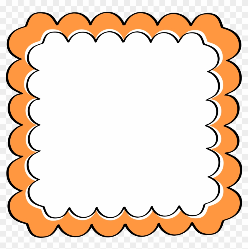 Orange Frame Cliparts Free Download Clip Art Border - Paparazzi Mystery Grab Bag #30498