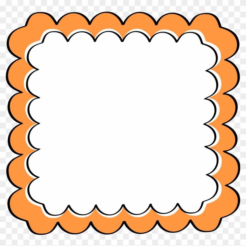 Orange Frame Cliparts Free Download Clip Art Border - Paparazzi ...