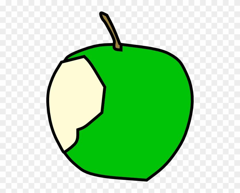 Green Apple Clip Art At Clker - Clip Art #30502