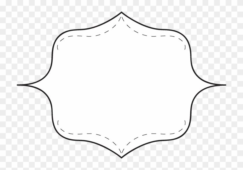 Frame Black And White Clip Art Frame With An Inner - White #30521