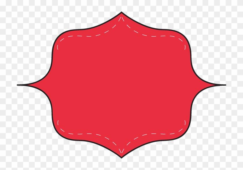 Red Clip Art Frame - Red Clip Art Frame #30573