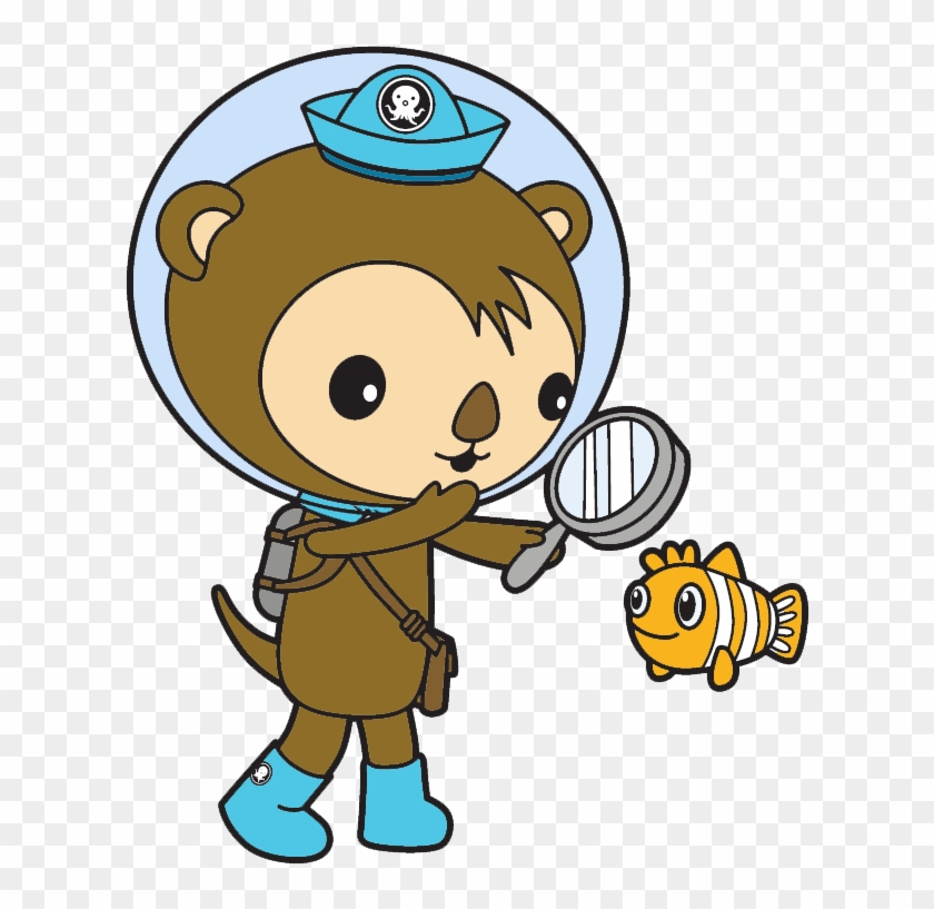 Octonauts Clipart - Shellington Octonaut #30584