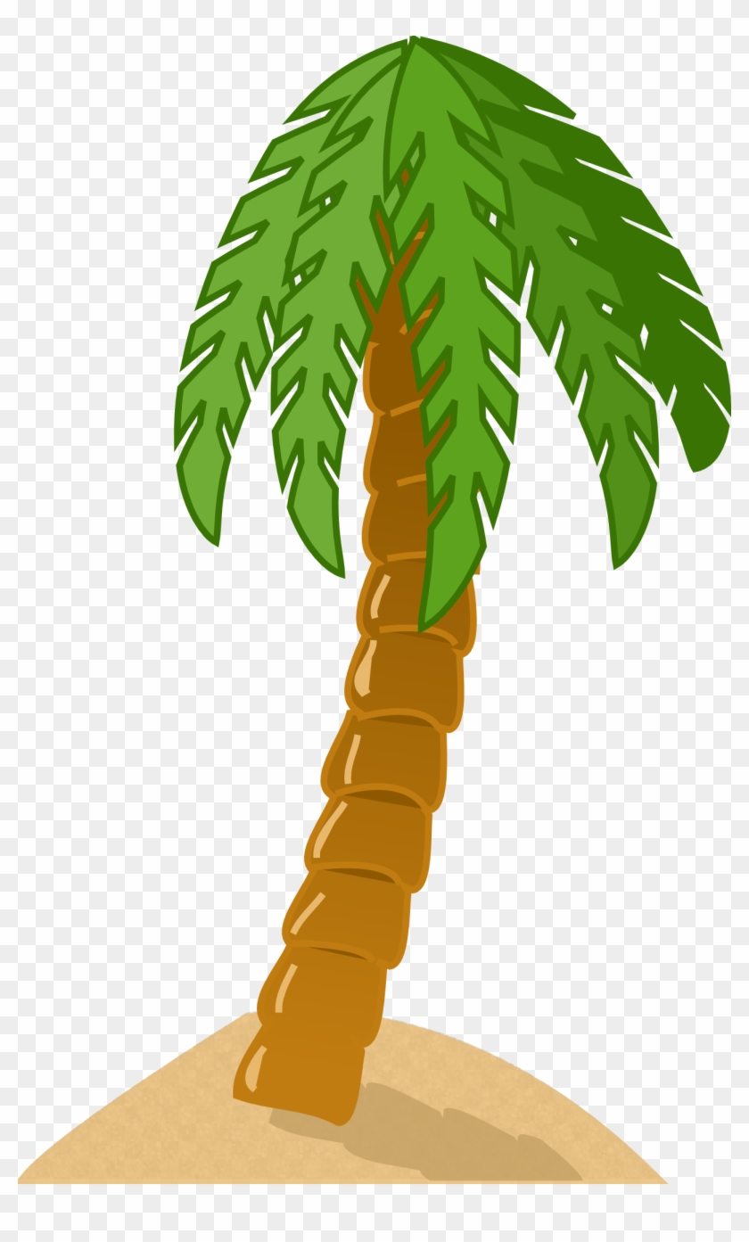 Simple Palm Tree Vector - Palm Tree Clip Art #30588