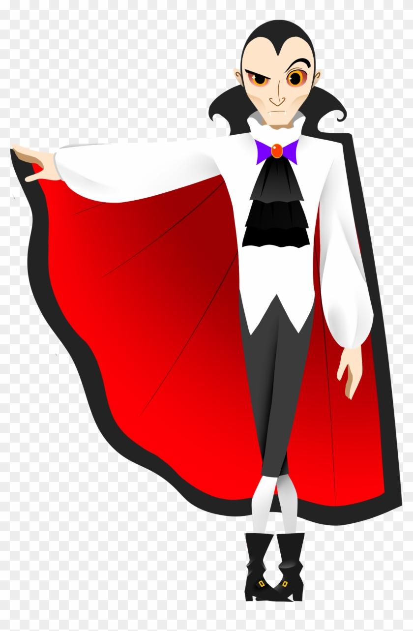 Capitalization Clipart - Count - Dracula Clipart #30592