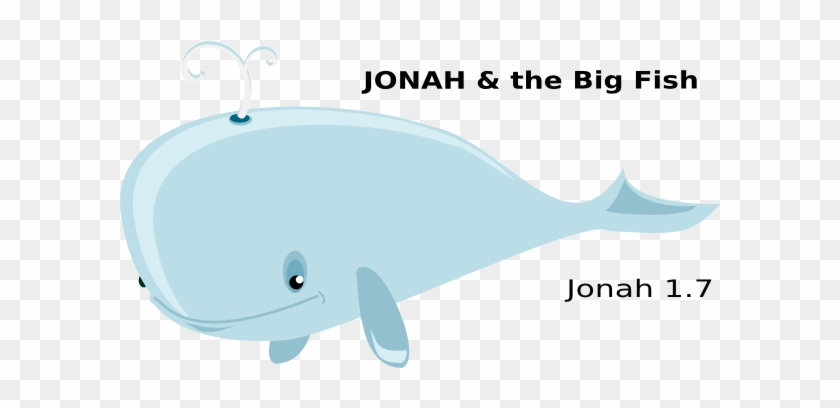 Jonah Fish Cliparts Free Download Clip Art On Clipart - Cartoon Whale No Background #30595