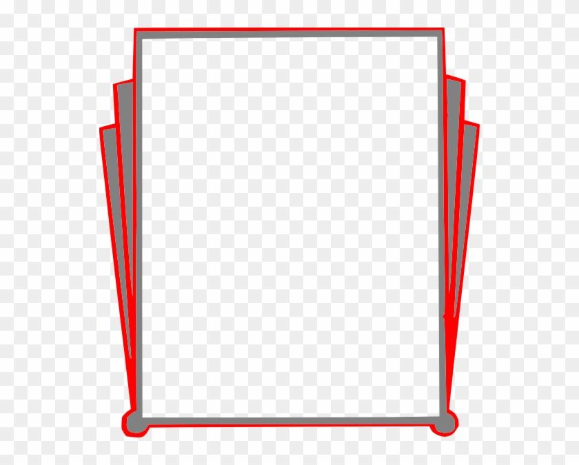 Free Vector Decorative Border Pages Book Clip Art - Border Clip Art #30605
