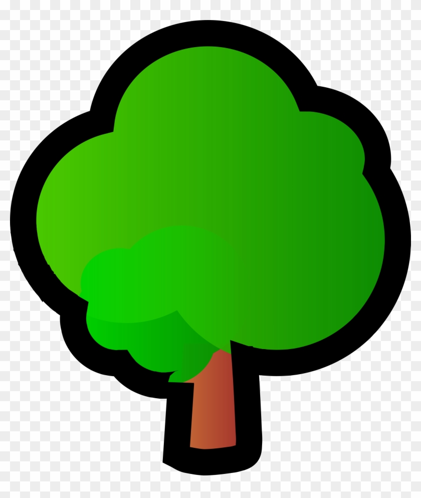 Big Image - Tree Clipart Small #30619