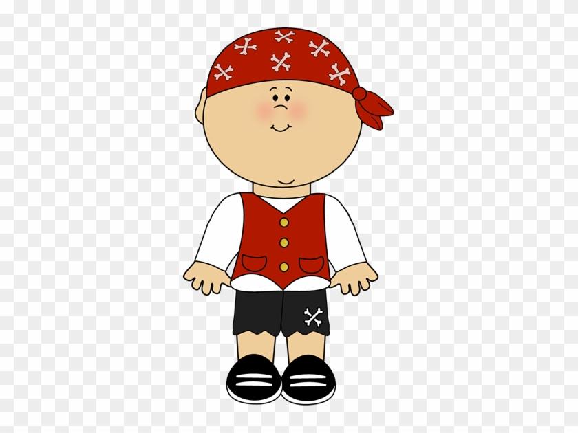 Pirate Boy Clip Art - Pirate Boy Clipart #30623