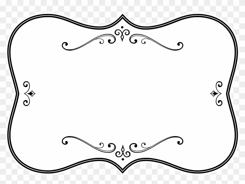 Borders And Frames Picture Frames Black And White Clip - Borders And Frames Picture Frames Black And White Clip #30741