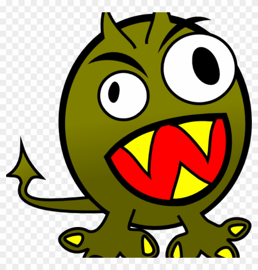 Weird Clipart Small Funny Angry Monster Clip Art At - Monster Clip Art #30722