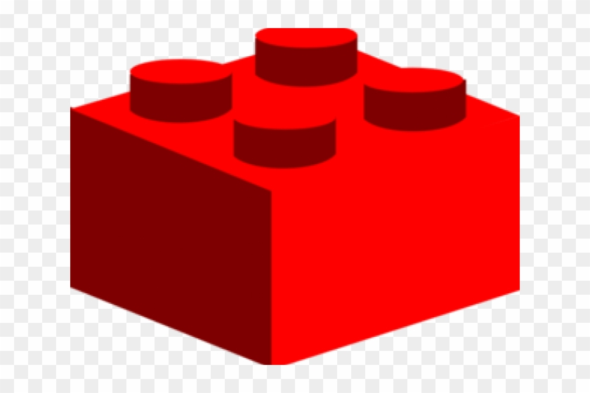 Strikingly Inpiration Lego Clipart Red Clip Art At - Lego Block Clipart #30799