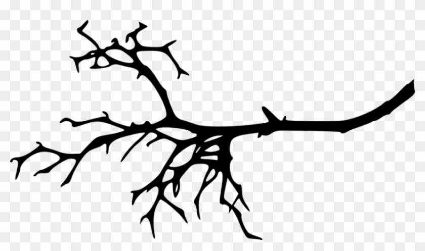 Free Png Tree Branch Silhouette Png Images Transparent - Tree Branch Silhouette Png #30880