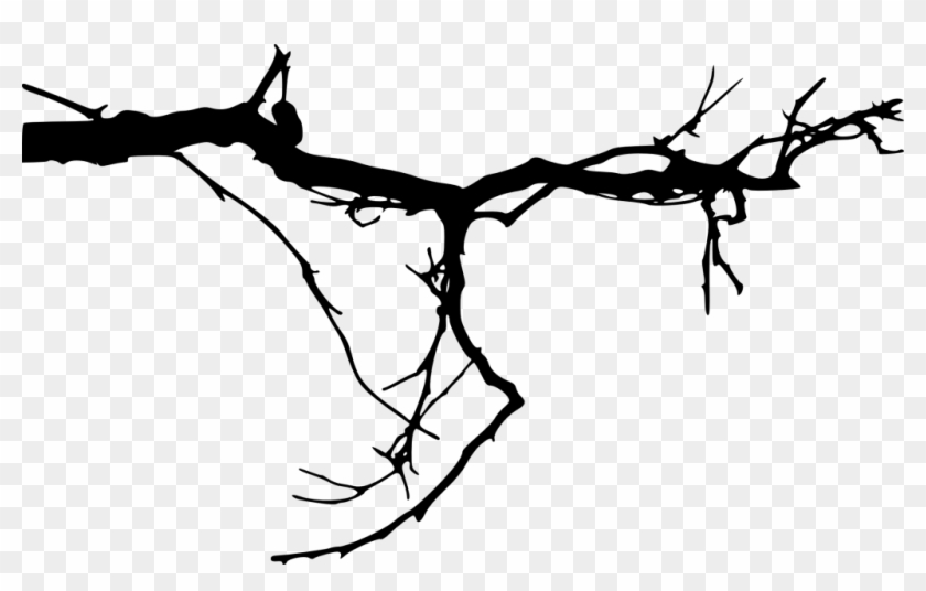 2000 × 680 Px - Tree Branch Silhouette Simple #30886