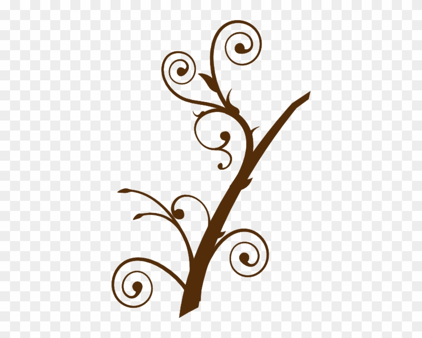 Brown Tree Branch Clip Art At Clker - Tree Branch Clip Art #30910