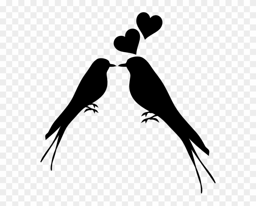 List Of Synonyms And Antonyms Of The Word Love Birds - Love Birds Silhouette Png #30921