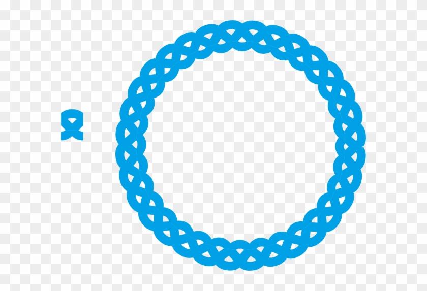 Blue Circle Frame Clip Art #30925