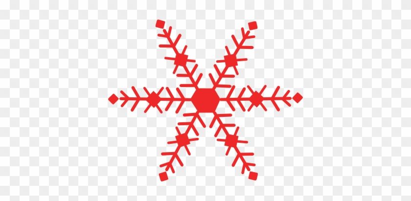 Free Clipart Christmas Snowflake - Christmas Clip Art Red #30968
