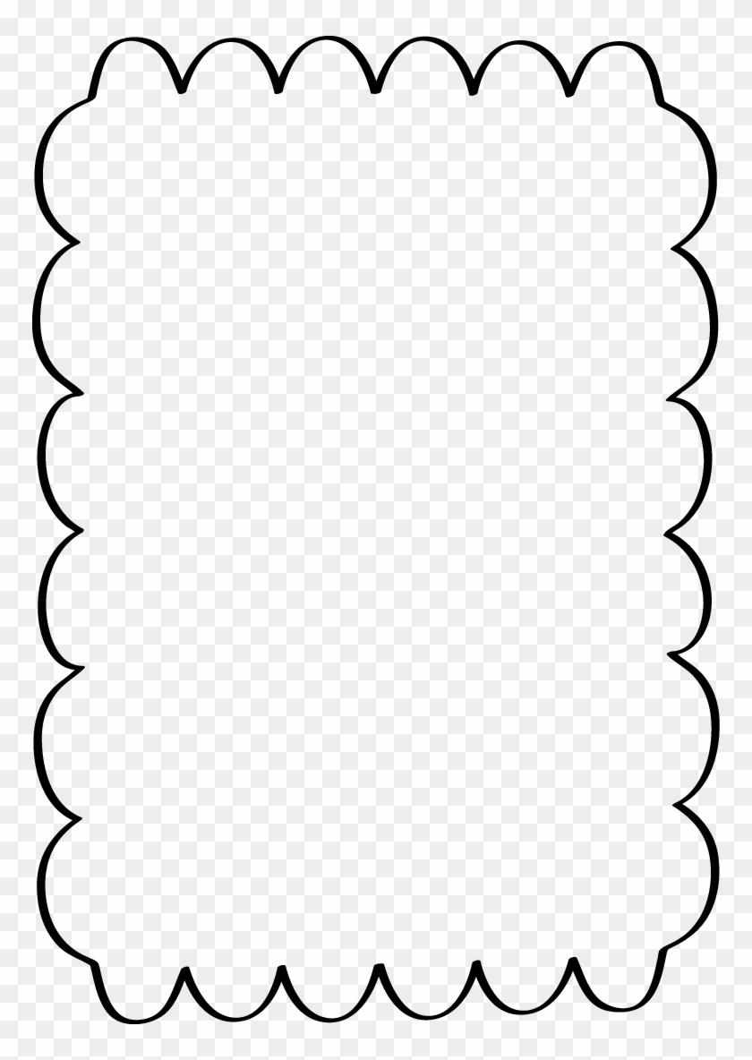 Scalloped - Scalloped Border Clip Art #30984