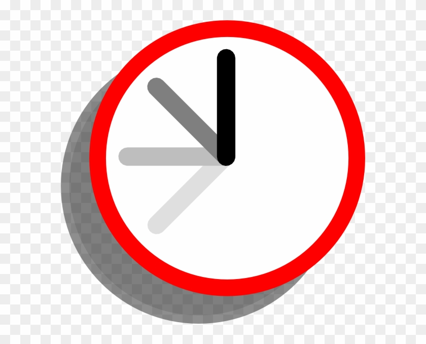 Ticking Clock Clip Art #30991