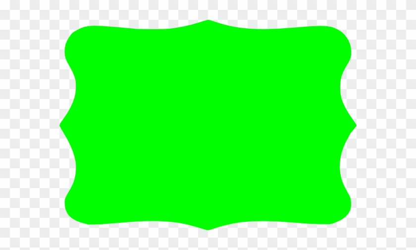 Green Bracket Clip Art - Rectangle Bracket Frame Png #31023