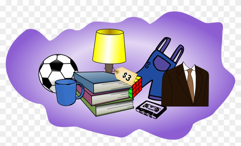 Many - Garage Sale Items Clip Art #31043