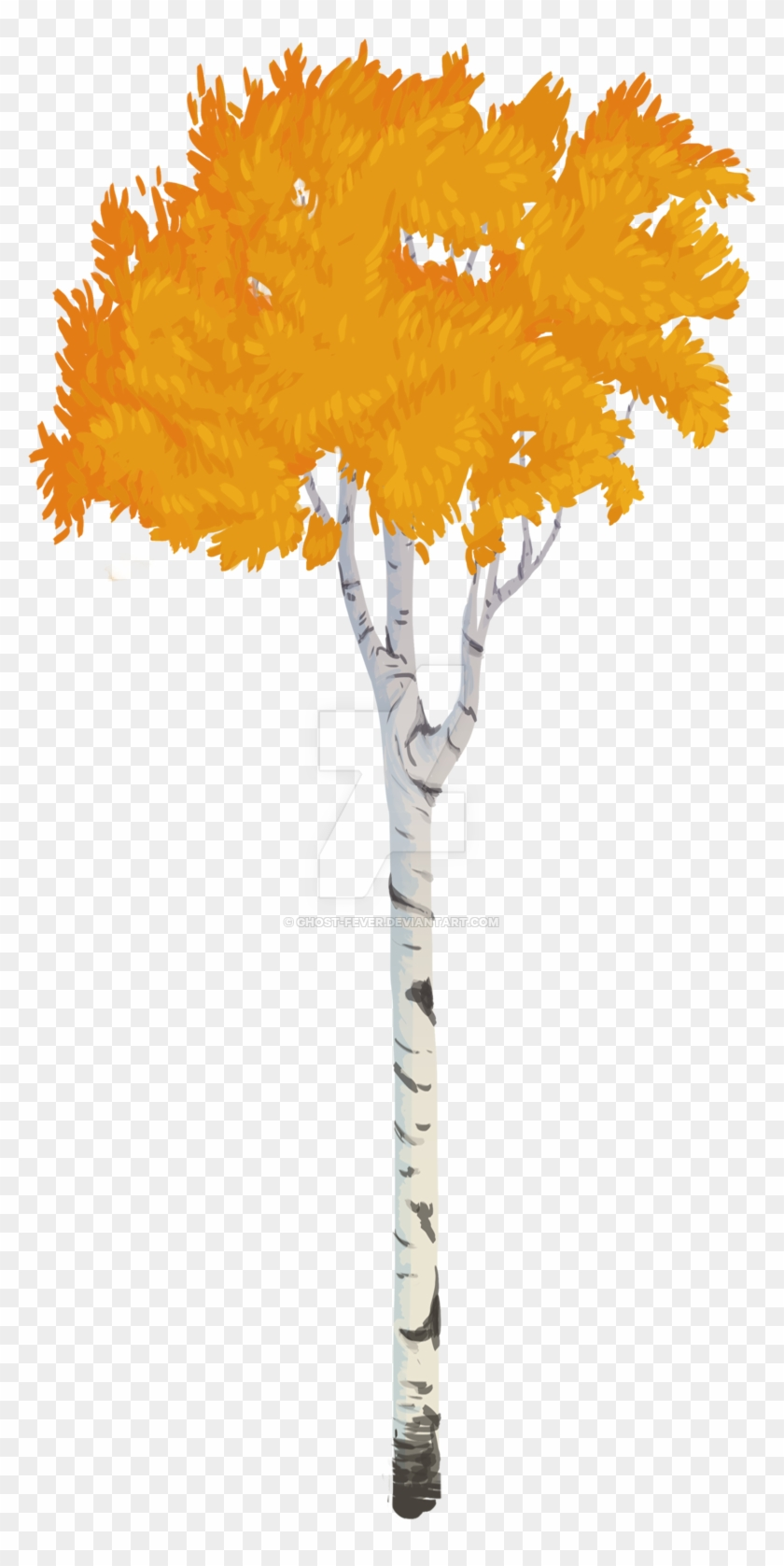 Ghost Fever 9 0 Aspen Tree Vector Style By Ghost Fever - Aspen Tree Png #31083