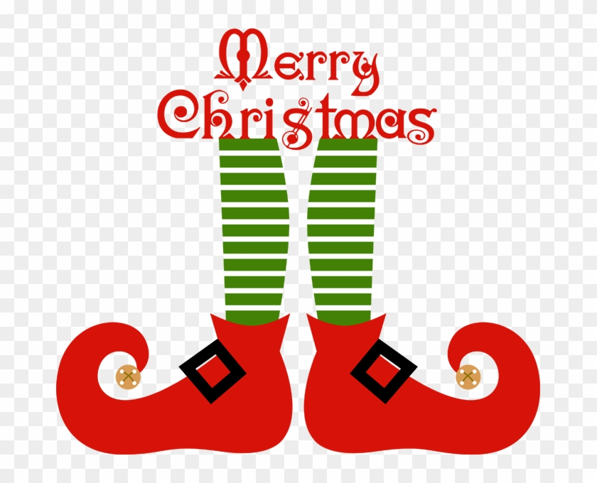 Elf Shoes Clipart Clipart Kid - Merry Christmas Elf Clipart #31078