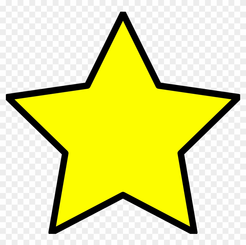 Religious Christmas Star Clipart - Yellow Star Clipart #31104