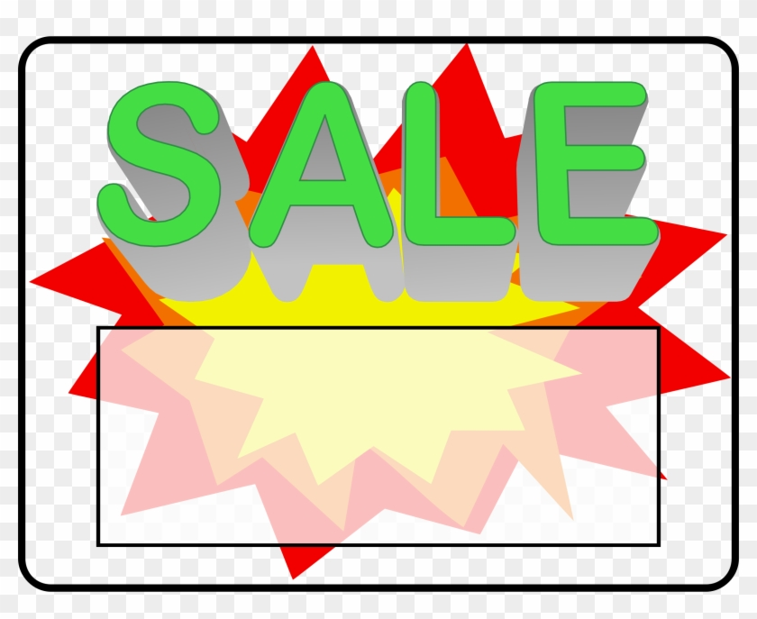 Sale Sign - Sale Sign #31110